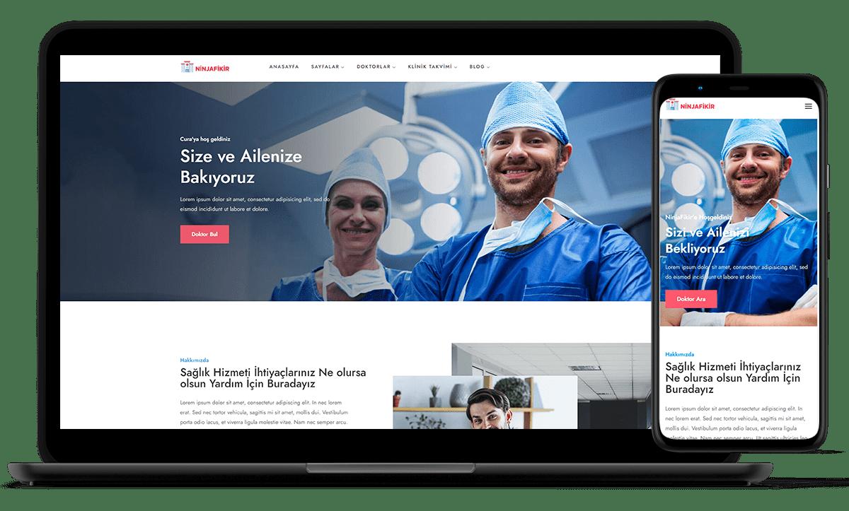 demo siteler ninjafikir doktor hastane sitesi