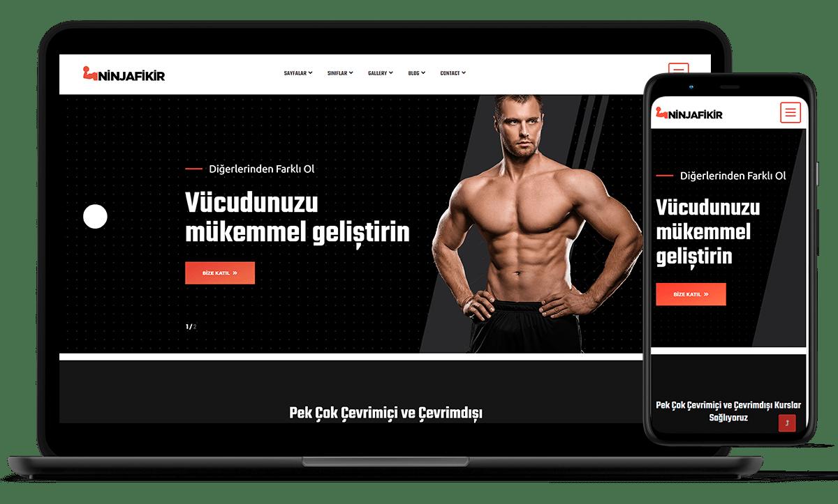 demo web siteleri ninjafikir - kurumsal