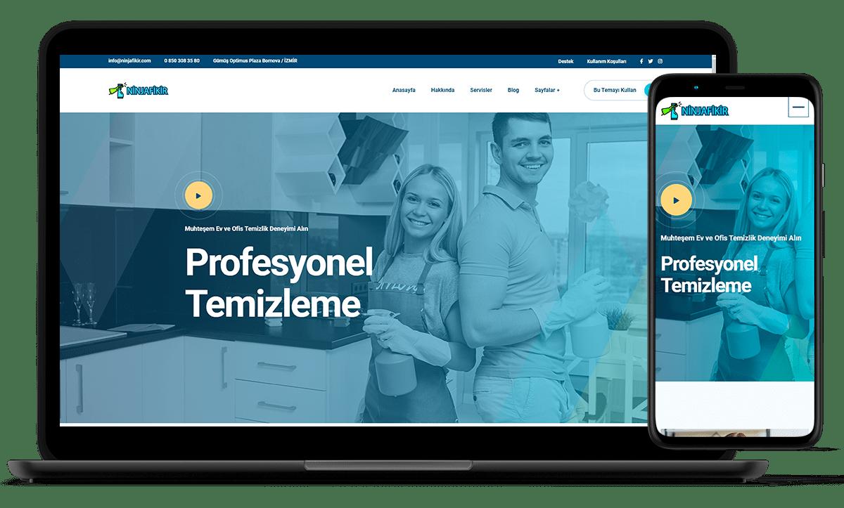 demo siteler ninjafikir - temizlik firması