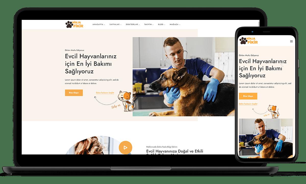 demo siteler ninjafikir veteriner vet sitesi-min